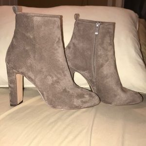 Forever 21 Suede Booties